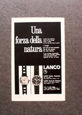 [GCG] M567 - Advertising Pubblicità - 1969 - LANCO SEABORN , BARRACUDA