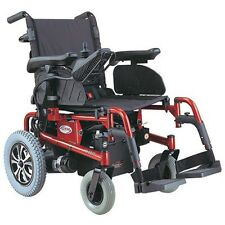 CTM HS-6200  Folding Electric Power Chair Red