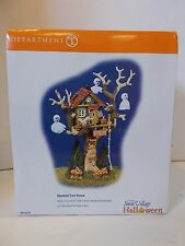 #2 Department dept 56 halloween village haunted tree house 55150 ghost accessory