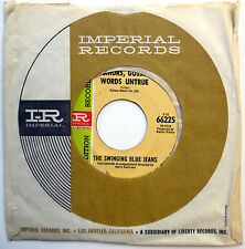 SWINGING BLUE JEANS 45 Rumors Gossip Words Untrue PROMO Mod BEAT 1967 w1754