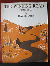 The Winding Road by Hazel Cobb - 1959 sheet music - for Piano solo
