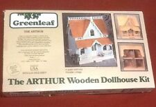 The Arthur Wooden Dollhouse Kit - Victorian Cottage - Vintage Greenleaf 1981