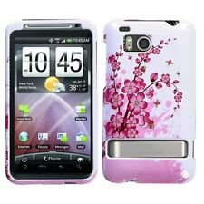 For HTC Thunderbolt 4G Protector Hard Case Snap on Phone Cover Spring Flowers