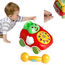 Niños Bebé Juguetes Educativos Alambre Sonrisa  Música Teléfono De Navidad