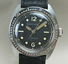 Vintage Vantage Ladies Dive Diver Diving Watch