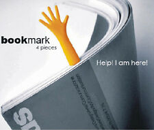 4X Funny Help Me Bookmarks Note Pad Memo Stationery Book Mark Novelty Gift r6