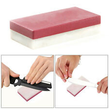 3000/10000 Grit Waterstone Knife Sharper Bowlder Double Side Sharpening Stone