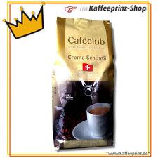 Cafeclub Schweizer Schümli Kaffeebohnen, 1kg ganze Bohnen Melange