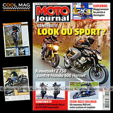 MOTO JOURNAL N°1755 KTM 690 SUPERMOTO GUZZI 940 BELLAGIO CHRISTOPHE POURCEL 2007