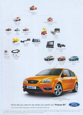 """Ford Focus """"My First Supercar"""" 2006 Magazine Advert #1271"""