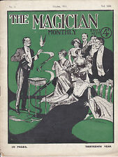 THE MAGICIAN MONTHLY. October 1912. No.11 Volume XIII.====MAGIC HISTORY===