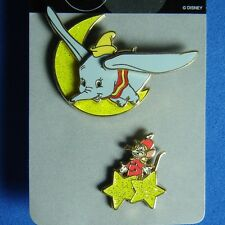 Dumbo and Timothy Mouse 2 Pin Disney Set JDS Japan RARE