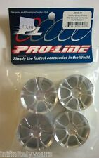PRO-LINE 26mm Gumby Chrome Wheels (4) #2645-41 NEW