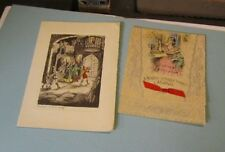 Vintage 1920's Color Christmas Card Lot A Time of Joy Merry Christmas Mother