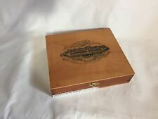 Vintage Sancho Panza Cigar Box Glorioso Honduras Wood Empty Craft Decor EUC