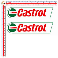 2 sticker castrol adesivi auto moto casco decal helmet