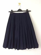 Authentic Japanese school girl uniform skirt, imported from Japan, M (Q1073)