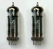 EL84 valves matched pair pour marshall & autres guitare/hifi amplificateurs 6BQ5 tube