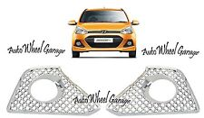 Premium Bentley Type Chrome Plated Fog Light Cover Hyundai i10 Grand & Xcent