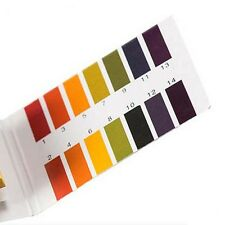 1 Pack / 80 pcs of 1-14 PH Test Indicator Paper Lab Water Soil Body Aquarium