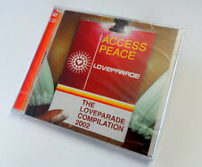 100 STK DOPPEL CD THE LOVEPARADE COMPILATION 2002 - ACCESS PEACE ALBUM MUSIK NEU
