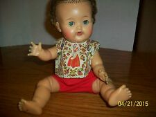 Vintage Betsy Wetsy 12 inch Doll outfit Sleeveless Shirt  with Red Panties