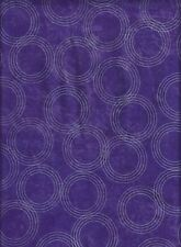 Feng Shui Fabric Collection Nesting Circles Grape Design by JB Quilting Crafting