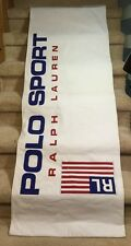 "Polo Sport Ralph Lauren Banner Store Display Double Sided 70"" X 24"" Flag Shirt"