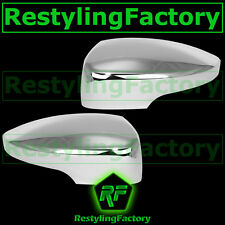 13-15 Ford Escape Triple Chrome plated Mirror cover for w/turn signal 1x pair