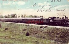 GRAND TRUNK EXPRESS, NEAR MONTREAL 1906