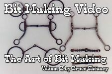 Art of Horse Bit Making DVD Volume 2 How to Make Snaffle Bits Video by Cheaney