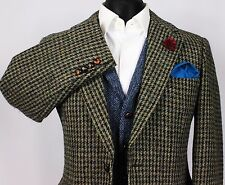 Harris Tweed Blazer Jacket Wedding Country Races 40S EXCEPTIONAL GARMENT 385