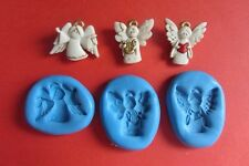 CHOIR OF ANGELS SILICONE MOULDS for Sugarcraft Cake Topper Fimo Cernit Cupcake