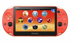New PS Vita Wi-Fi Console Neon Orange PCH-2000 ZA24?From Japan?PSV