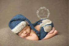 Newborn Baby  Infant Knitted Crochet Costume Photo Photography Prop A6