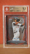 2013 Bowman Top 100 Carlos Correa Card BGS 9.5.