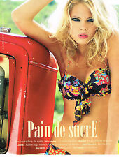 PUBLICITE ADVERTISING 045  2008  PAIN DE SUCRE  collection maillots de bain