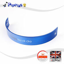 NEW Replacement Top Headband For Dr Dre Beats Monster Studio Headphones BLUE
