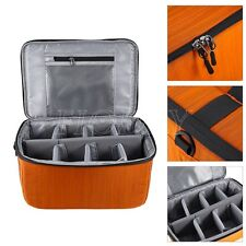 DSLR SLR Partition Folding Padded Camera Lens Insert Shoulder Bag Dividers Case