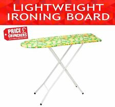 Ironing Board Lightweight Foldable Clothes Iron Ironing Table Wooden Top 42""