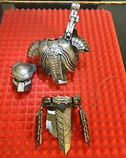 Hot Toys MMS190 Scar Predator AVP Body Armor Helmet Gauntlets Weapons Necklace