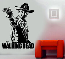 The Walking Dead/Andrew Lincoln Rick Grimes Zombies Wall Art Sticker/Decal