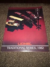 Lionel Traditional Series 1982 catalog Guide MODEL TRAIN COLLECTIBLE RARE