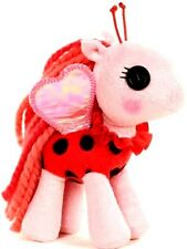 NEW! Lalaloopsy Ponies Plush! Lady B Pony in Lady Bug Costume w Wings! Pink&Red