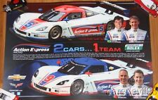 2013 Action Express Racing Chevy Corvette Daytona Prototype Grand Am poster