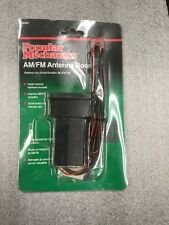 Popular Mechanics AM/FM Antenna Booster 38397. NEW