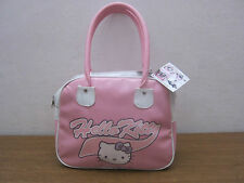 BORSA DONNA HELLO KITTY ROSA BAULETTO NUOVA