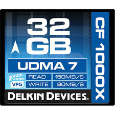 DK Pro 32G 1000X UDMA 7 Compact Flash card for Nikon D4S D4 D3S D3 D-SLR camera