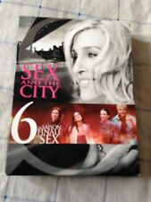sex and the city saison 6 coffret 5 DVD 20 épisodes la saison finale !