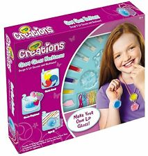 Crayola creations glam gloss make your own lip gloss et colliers